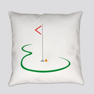 Golf Green Everyday Pillow