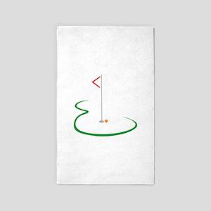 Golf Green Area Rug