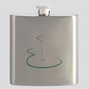 Golf Green Flask