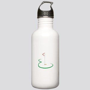 Golf Green Water Bottle
