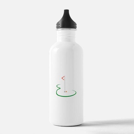 Golf Green Water Bottle
