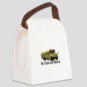 No Child Canvas Lunch Bag