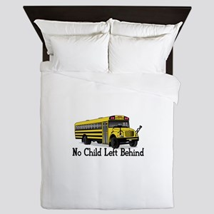 No Child Queen Duvet
