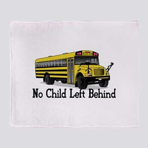 No Child Throw Blanket