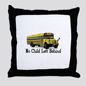 No Child Throw Pillow