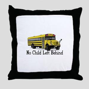 No Child Throw Pillow