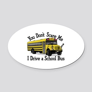 Scare Me Oval Car Magnet
