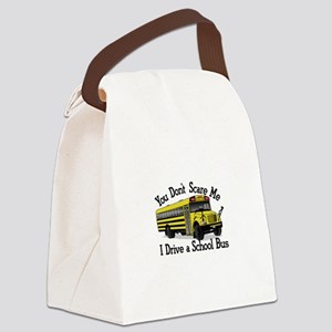 Scare Me Canvas Lunch Bag