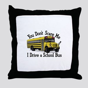 Scare Me Throw Pillow