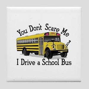 Scare Me Tile Coaster
