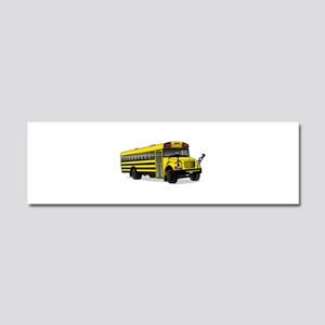 School Bus Car Magnet 10 x 3