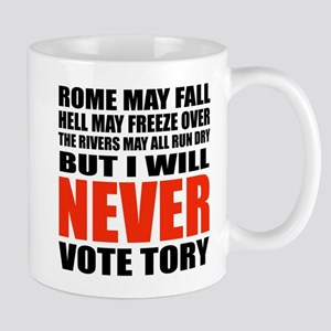 Never vote Tory (Adult) Mugs