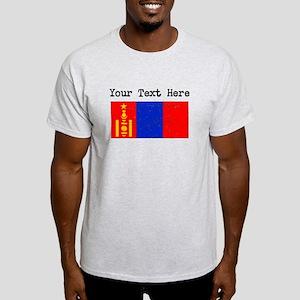 Mongolia Flag (Distressed) T-Shirt