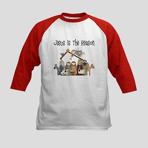 Jesus is the Reason Kids Baseball Jersey