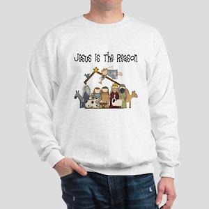 Jesus is the Reason Sweatshirt