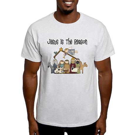 Jesus is the Reason Light T-Shirt