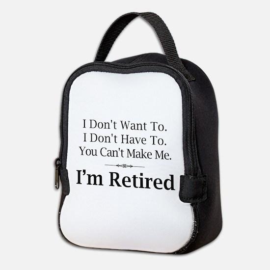 Retired Neoprene Lunch Bag