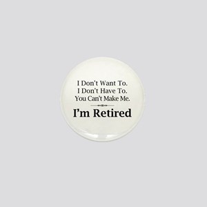 Retired Mini Button