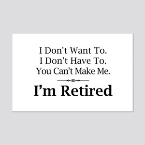 funny retirement posters cafepress