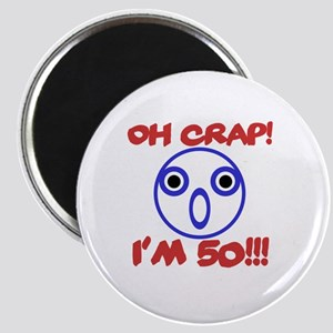 Funny 50th Birthday Magnet