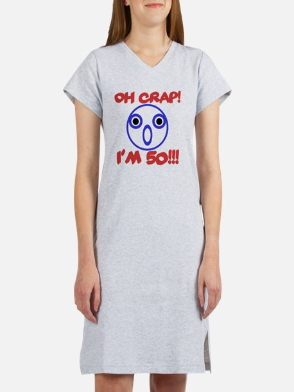 Funny 50th Birthday Women's Nightshirt