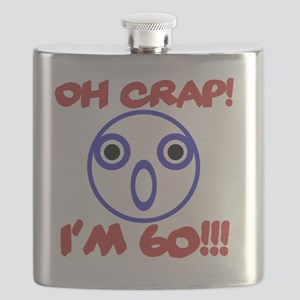 Funny 60th Birthday Flask
