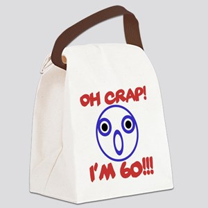 Funny 60th Birthday Canvas Lunch Bag
