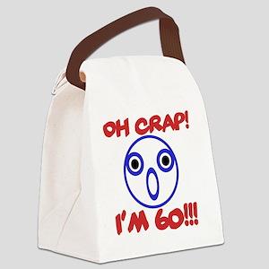 Funny 60th Birthday Canvas Lunch Bag