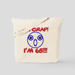 Funny 65th Birthday Tote Bag