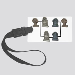 GeneaologyResearch112810 Large Luggage Tag