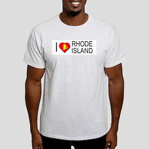 I love Rhode Island Light T-Shirt