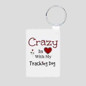 Tracking Dog Keychains