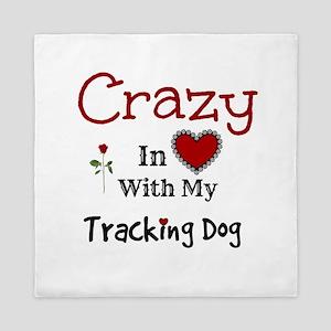 Tracking Dog Queen Duvet