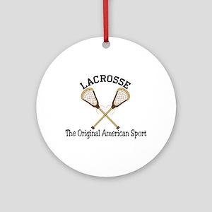 American Sport Ornament (Round)