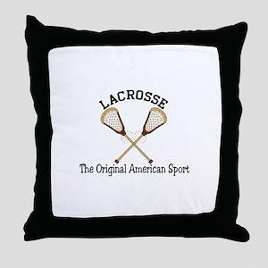 American Sport Throw Pillow
