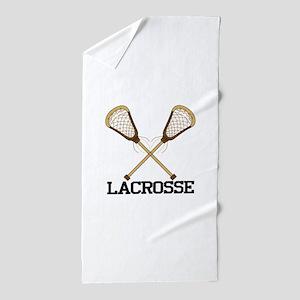 Lacrosse Beach Towel