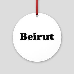 Beirut Ornament (Round)