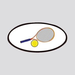 Tennis Racquet and Ball Patch