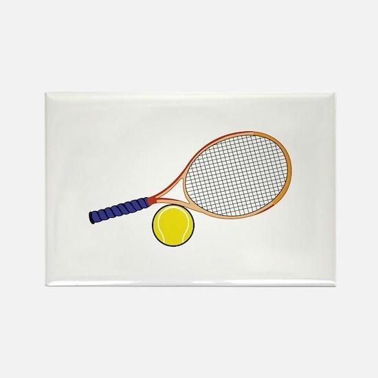 Tennis Racquet and Ball Magnets