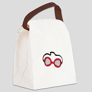Swim Goggles Canvas Lunch Bag