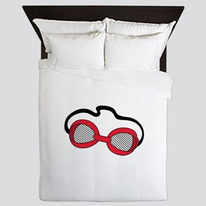 Swim Goggles Queen Duvet
