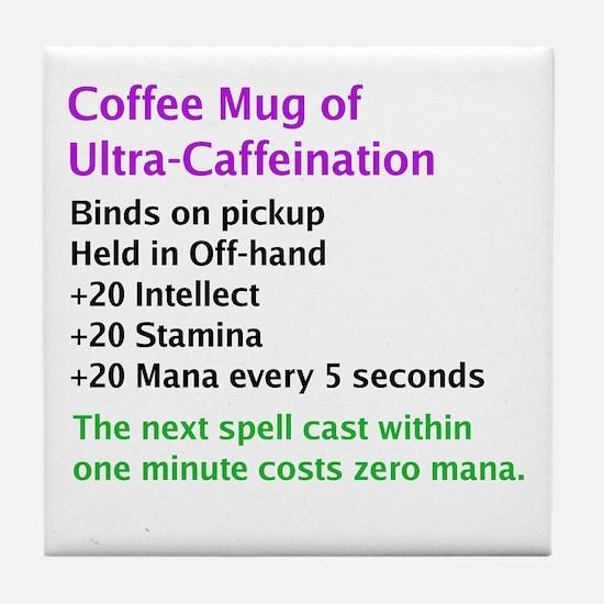 Epic Coffee Mug Tile Coaster