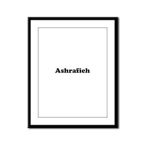 Ashrafieh Framed Panel Print