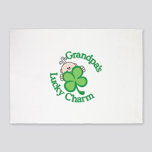 Grandpa's Lucky Charm 5'x7'Area Rug
