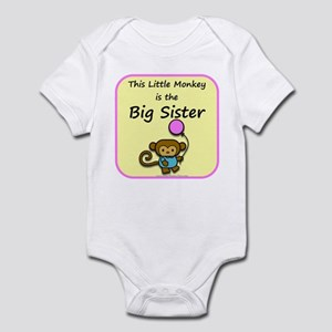 This little monkey is the big Infant Bodysuit