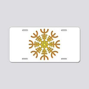 Helm of Awe Aluminum License Plate