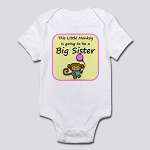 Little monkey is going to be Infant Bodysuit