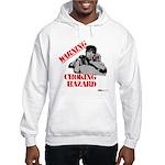 Warning Choking Hazard Hooded Sweatshirt