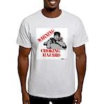 Warning Choking Hazard Light T-Shirt