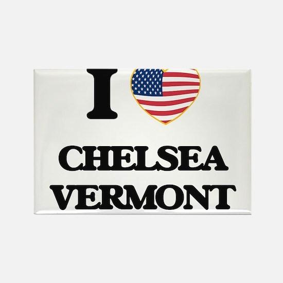 I love Chelsea Vermont Magnets